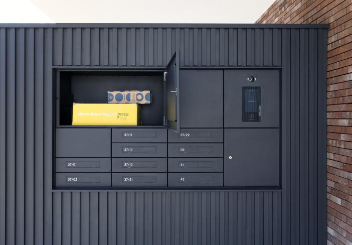 eSafe Wall parcel mailboxes